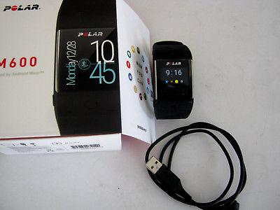 Polar M600 Polar-Uhr Schwarz Smartwatch mit Trainingsfunktionen & GPS 90061186
