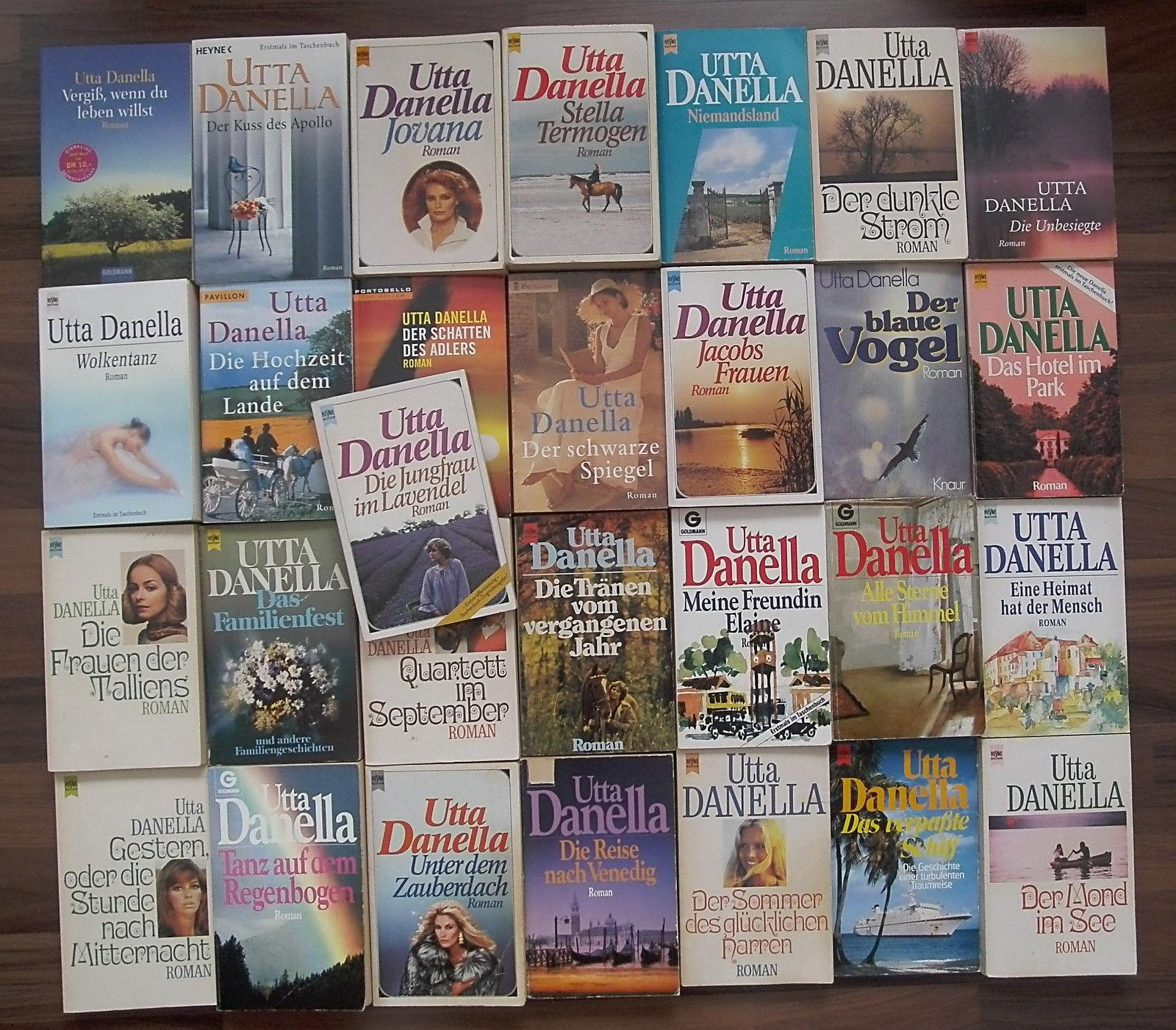 Bücher-Sammlung 29 x Utta Danella: Romane Paket Konvolut TB Frauenromane Liebe