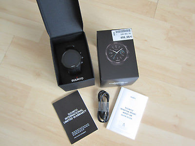 Suunto Spartan Sport Wrist HR All Black, Top Zustand!!!