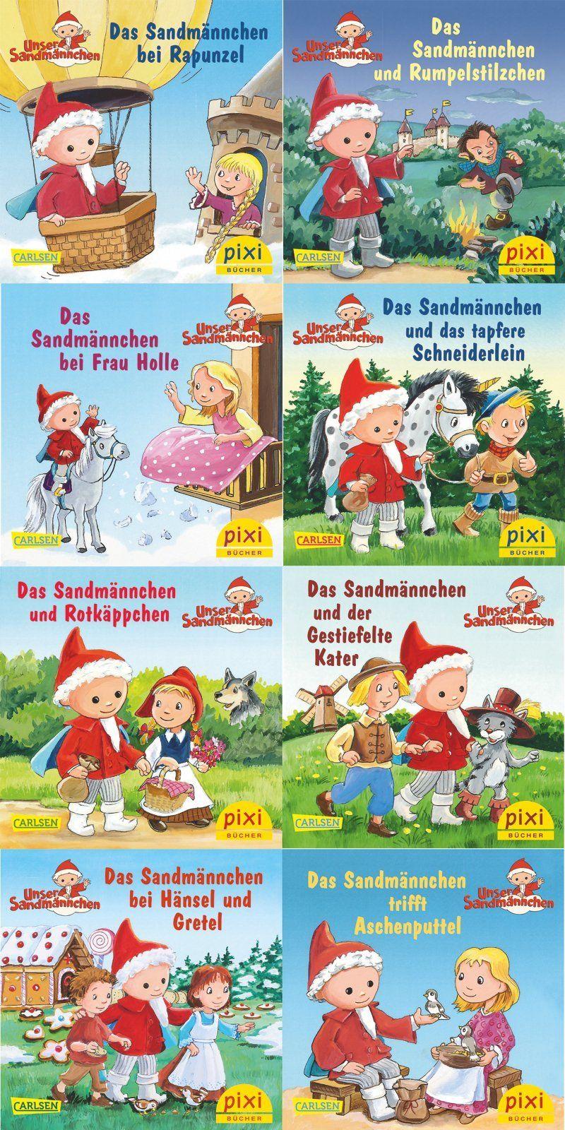 Pixi Bücher Das Sandmännchen im Märchenwald Serie 230 + BONUS