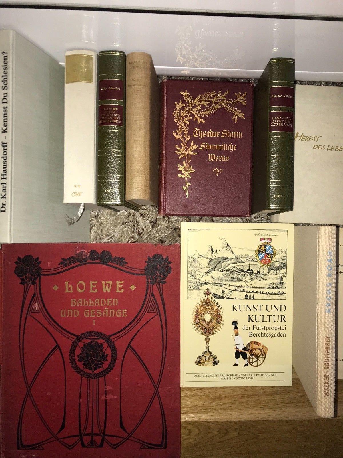 1903-2008 antiquarische Büchersammlung Buchpaket antik Konvolut 45 Stk. ca.250€