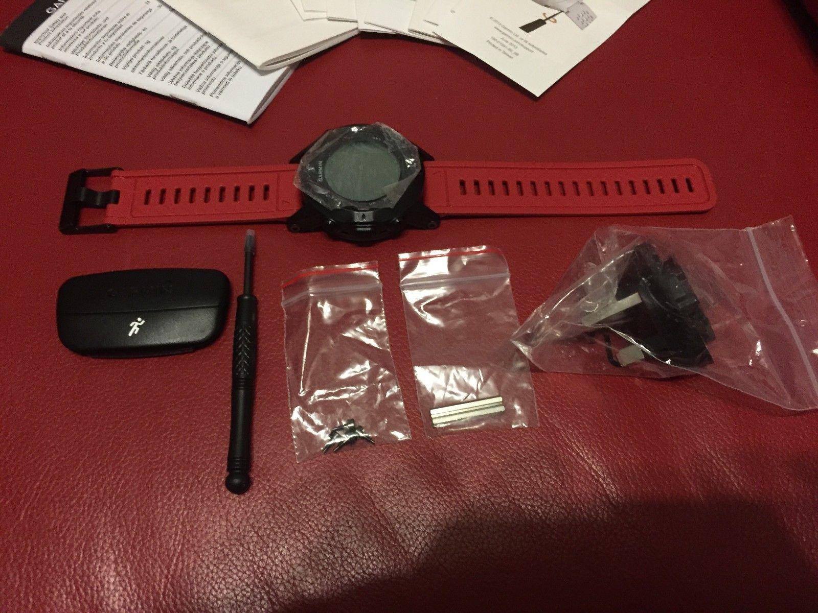 GARMIN Fenix 2 Multisport Training GPS Watch Sport-Uhr Bundle mit