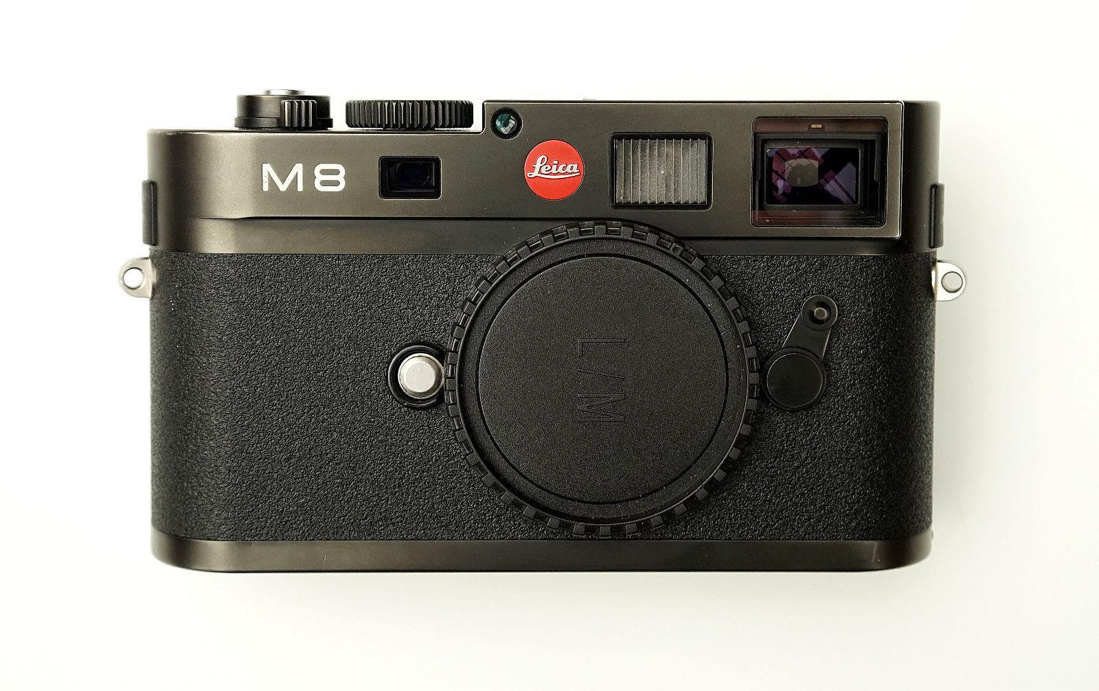 Leica M8 Body mit 3874 Auslösungen