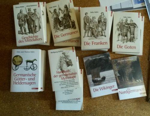 Wikinger, Goten, Germanen, Franken, Mythologie, Götter und Helden, MA, etc.