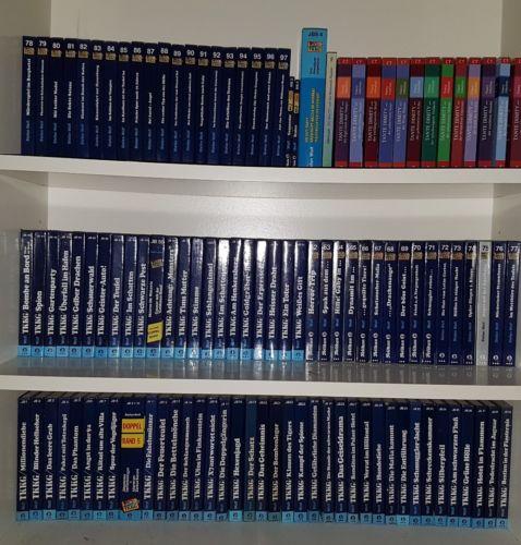 TKKG Bücher Sammlung Band 1-97
