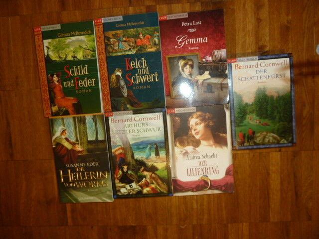 Historische Romane Bücherpaket 7 TB