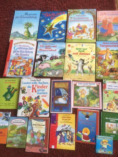 20 Bücher Kinderbücher Bücherpaket - für Kinder, Eltern oder Leserratte