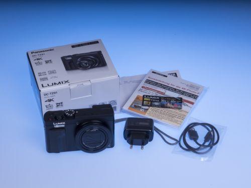 Panasonic Lumix DC-TZ91 schwarz, wie neu + Extras + Garantie - Top!