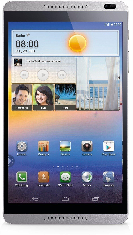 Huawei M1 8.0 Tablet-PC 20,3 cm (8 Zoll) 16GB silber-weiß