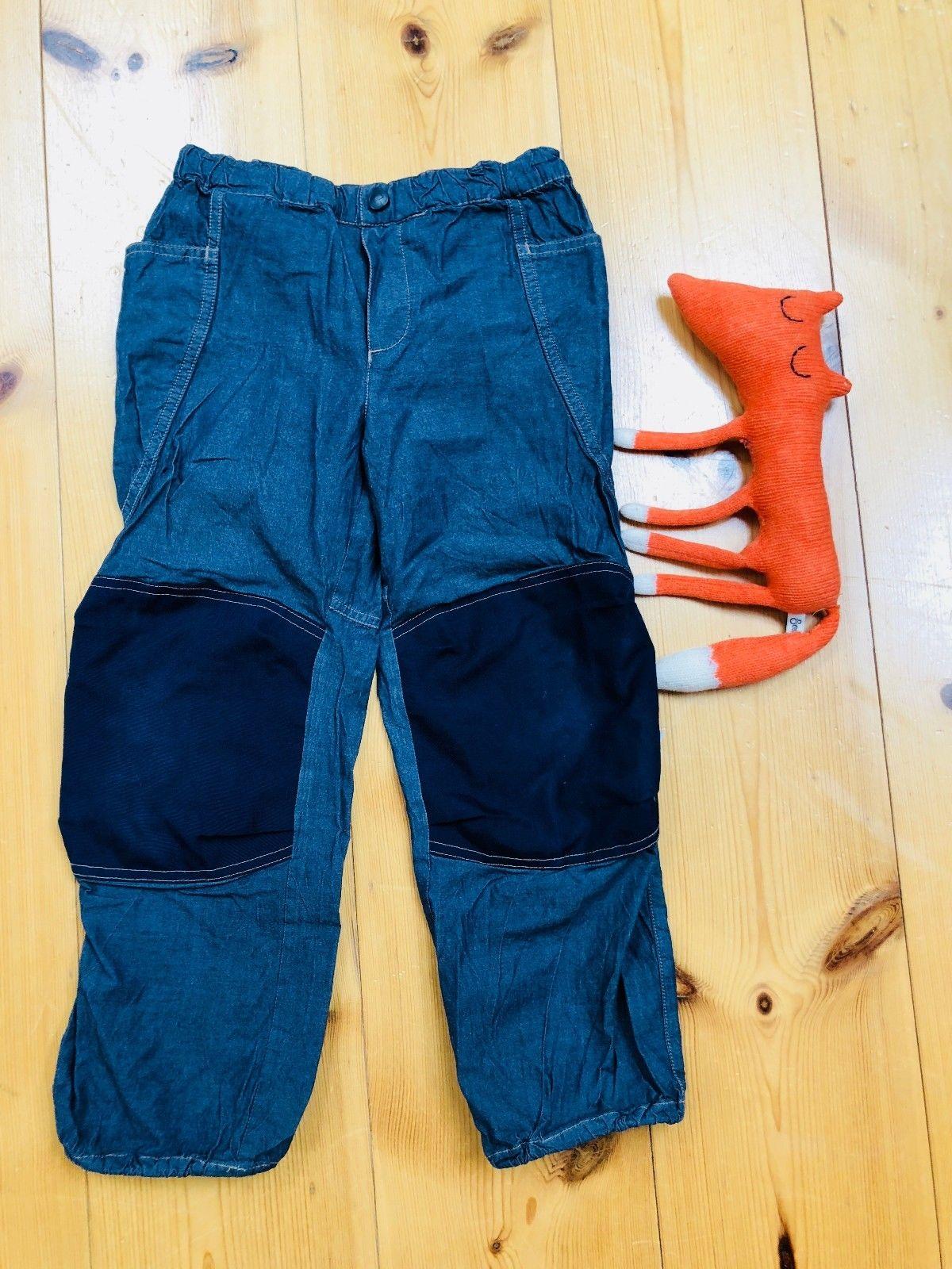 Finkid Kuuhullu Sommer Outdoorhose Gr. 110/120 ?? Jeans ?? Waldkind