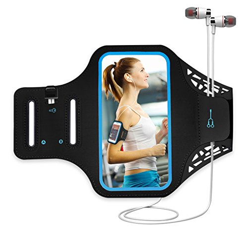 Sport Armband Handy for iPhone 7 6 6s 8 Joggen Laufen Gym Armtasche Waterproof Wristband Resistant with key pocket & small money für samsung galaxy a3 HTC ONE X iphone SE 5S 5 5C 5 Unter 4.7