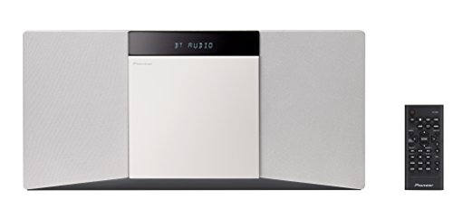 Pioneer X-SMC02D-W Slim All-In One System mit Bluetooth, DAB und USB-Anschluss weiß