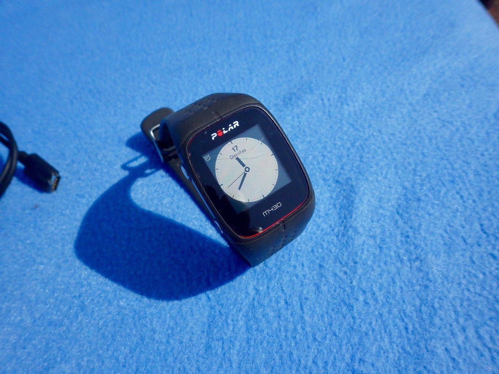 Polar M430 GPS Laufuhr Trainingscomputer Herzfrequenz OHNE Brustgurt 9 Mon. alt