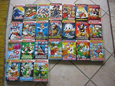 Konvolut 24 Stück Lustige Taschenbücher Enten Edition Walt Disney Comics
