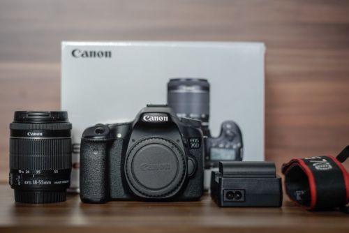 Canon EOS 70D 20.2 MP SLR-Digitalkamera - Schwarz (Kit mit EF-S 18-55mm STM)