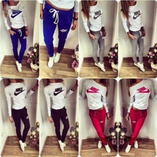 Tracksuits Womans Sweaters Jogging Loungeware Bottom Top Jogger Sets