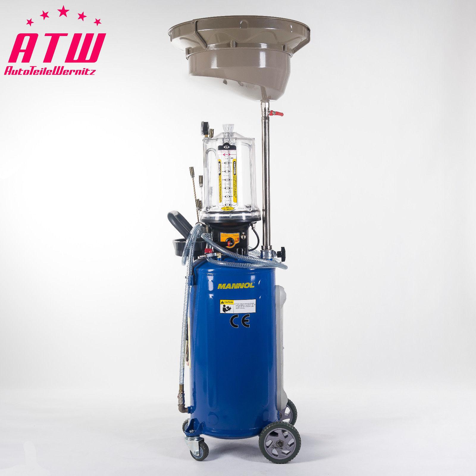 Profi Werkzeug- Altölabsauger Altölsammler Ölauffanggerät Ölabsauggerät 80 Liter