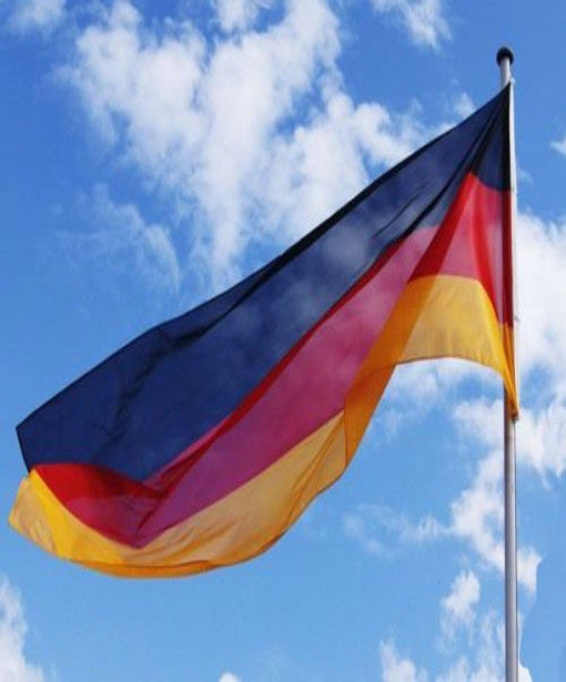 Deutschland XXL Fahne 450 x 190cm Groß Metallösen Flagge WM Fanartikel Garten