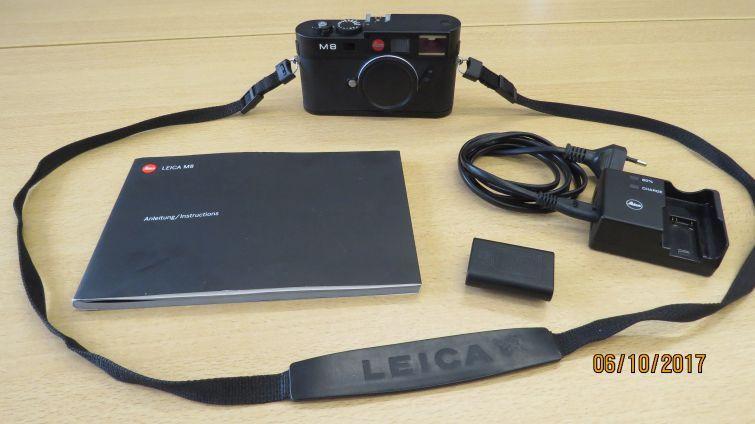 Digitalkamera Leica M8 TOP ZUSTAND mit 2.705 Auslösungen Kamera