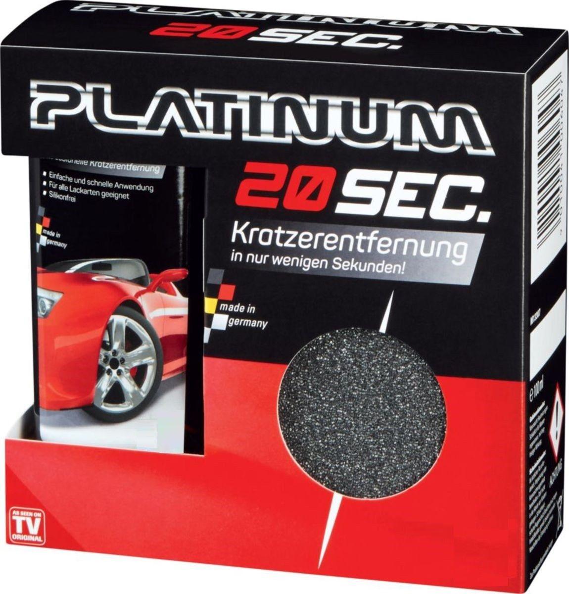 Platinum 20 sec. - professionelle Kratzerentfernung // in 20 SEK - SECOND NEU !!