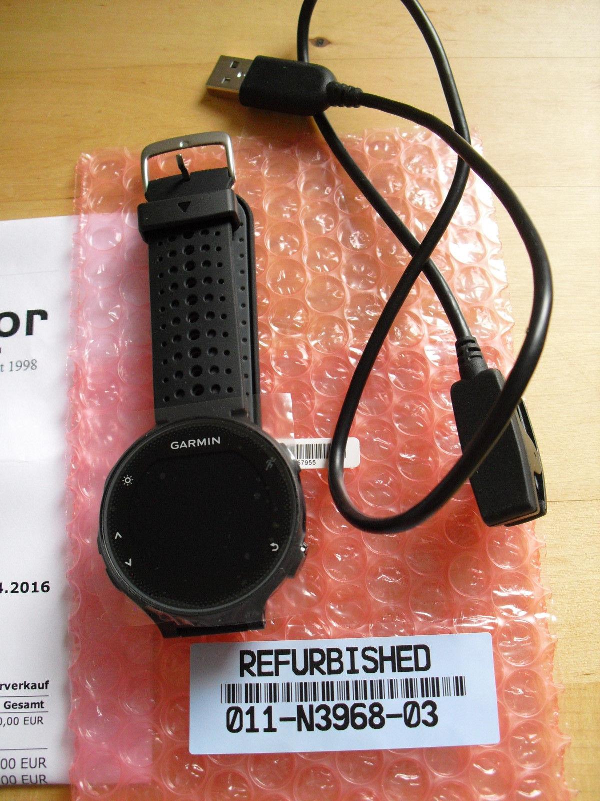 Garmin Forerunner 235 GPS Laufuhr (Herzfrequenzmessung am Handgelenk)