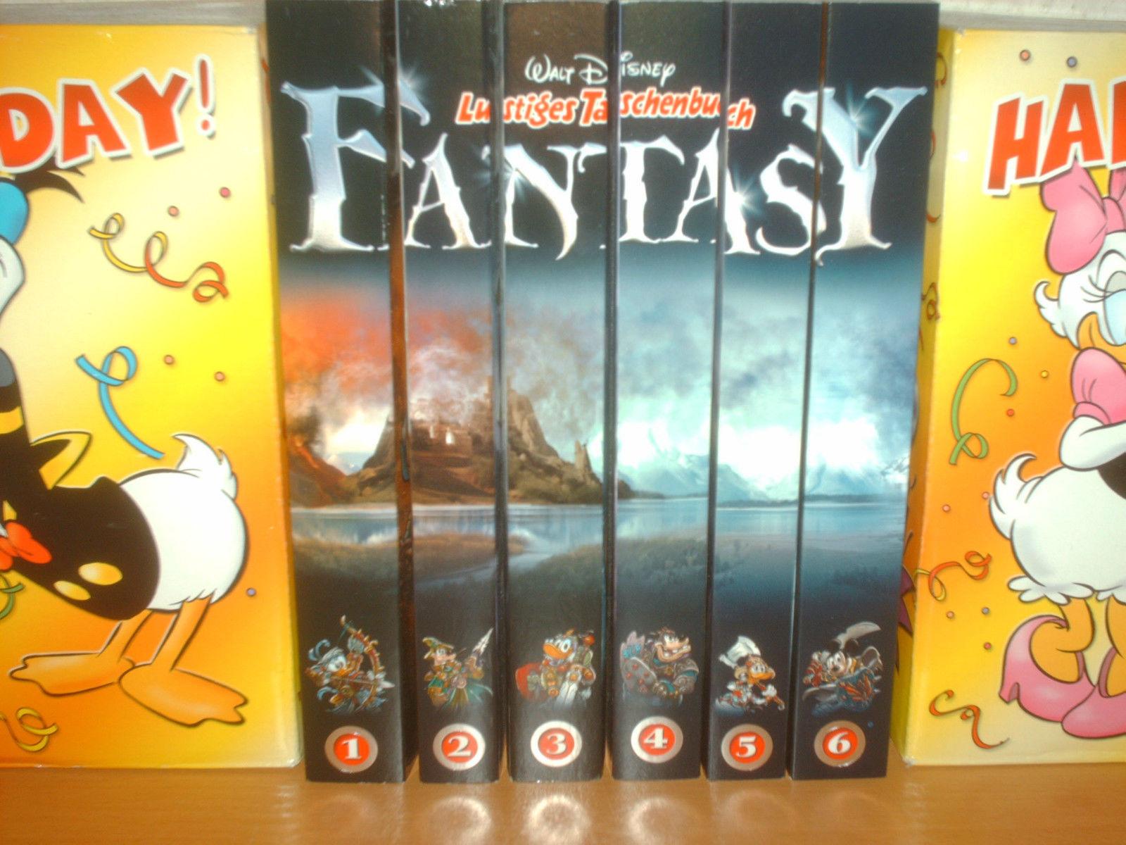 Comic LTB FANTASY Bände 1,2,3,4,5 und 6 komplette Sammlung aus 2013  1A Zustand