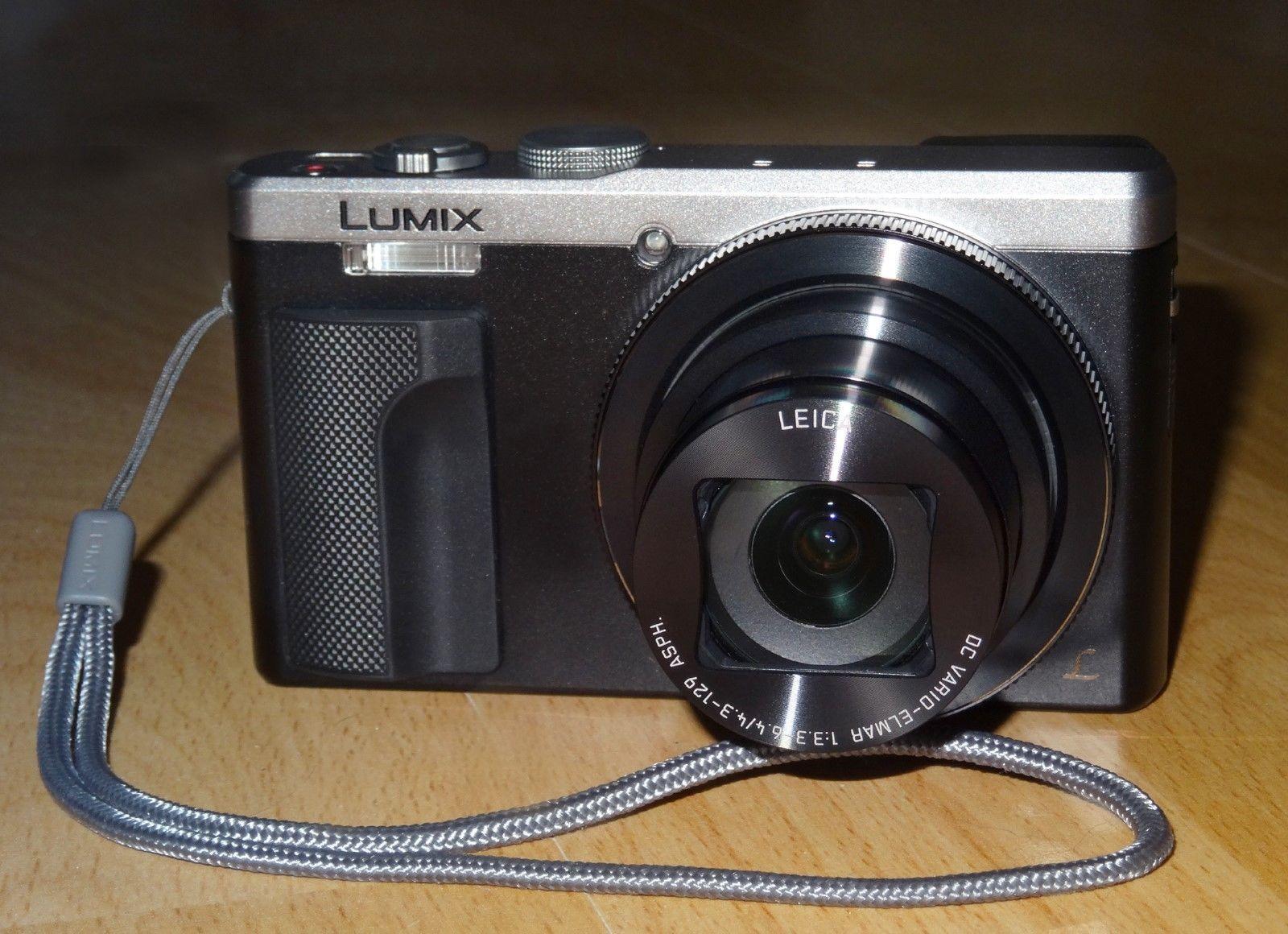 Panasonic Lumix DMC-TZ81 Silber, kaum benutzt voll funktionsfähig