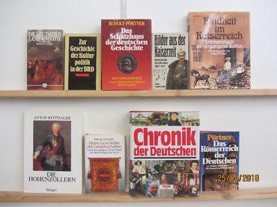 22 Bücher Bildbände Kunst Kultur Geschichte deutsche Geschichte
