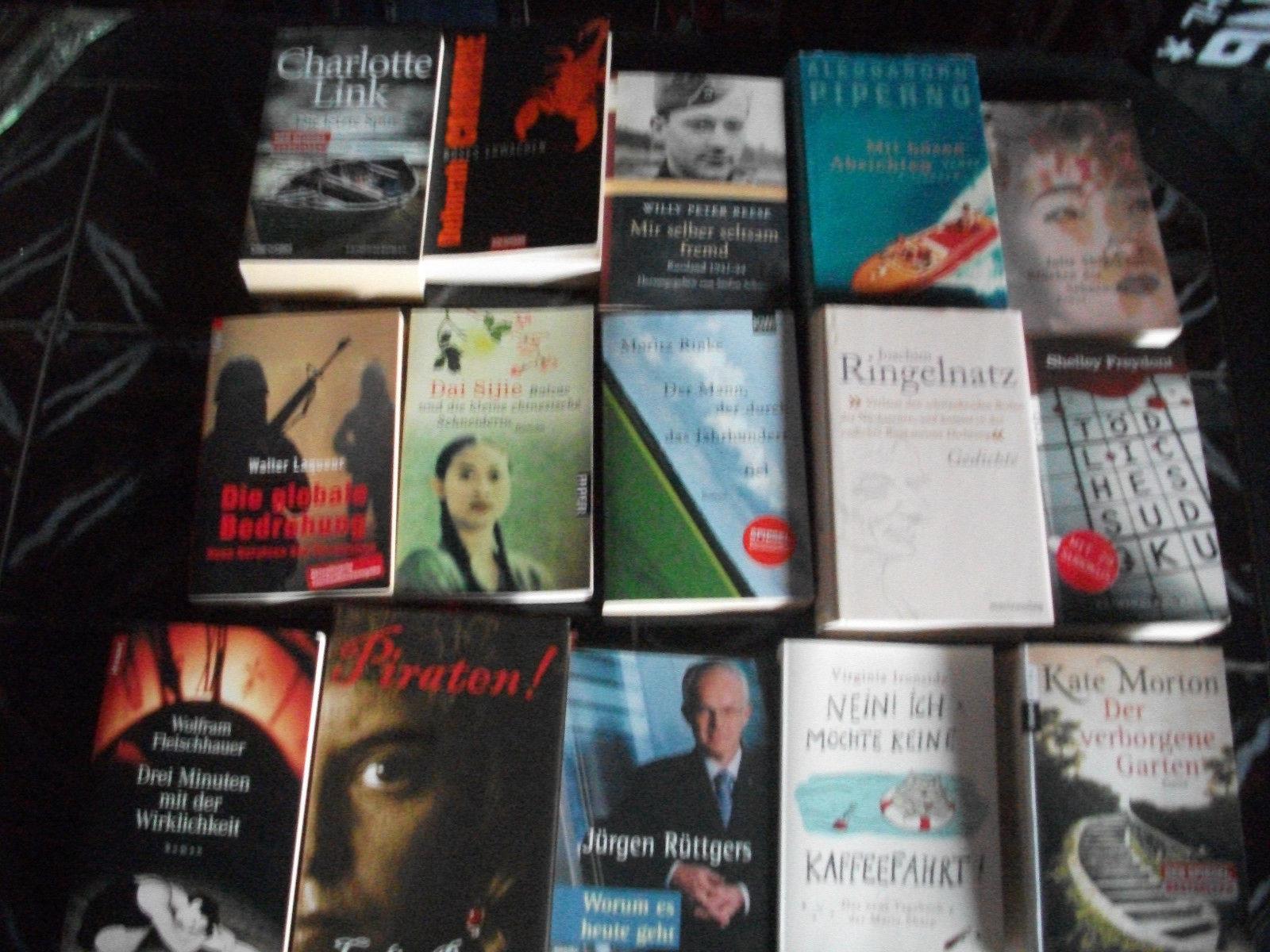 gr. Buchpaket 38 stk. Krimis Bestseller Romane (ab 2010 nichtraucher neuwertig )