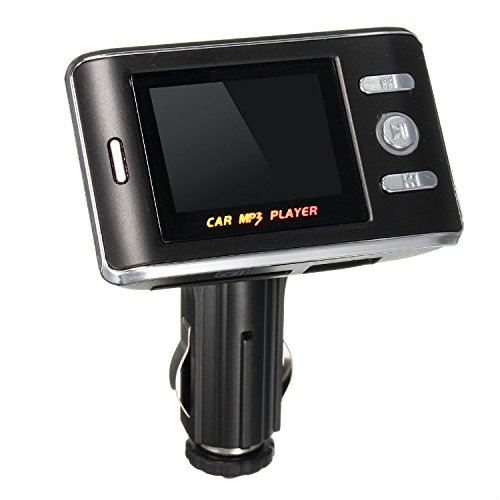 1.5 inches LCD Car FM Transmitter Bluetooth Handsfree mit Fernbedienung
