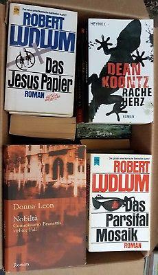 Krimi Thriller - 48 Bücher - Buchpaket Bücherpaket Buchsammlung
