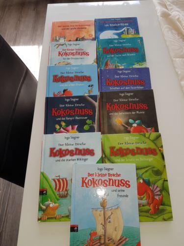 Der kleine Drache Kokosnuss - 11 Bücher - guter Zustand lohnt sich greift zu