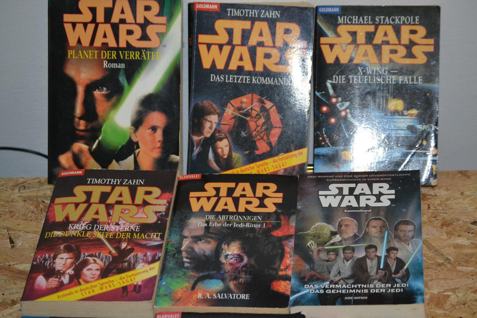 Star Wars - Büchersammlung 12 Bücher gut erhalten!