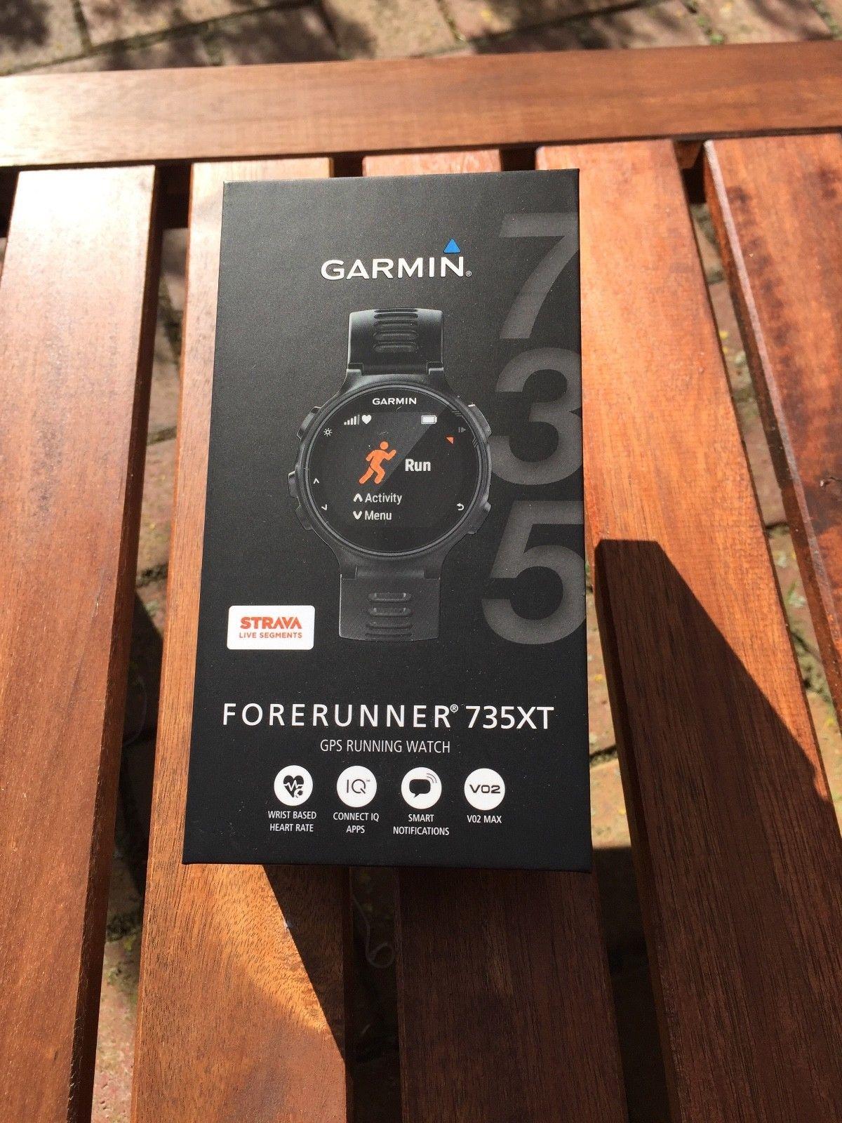 Garmin Forerunner 735XT - fast neu