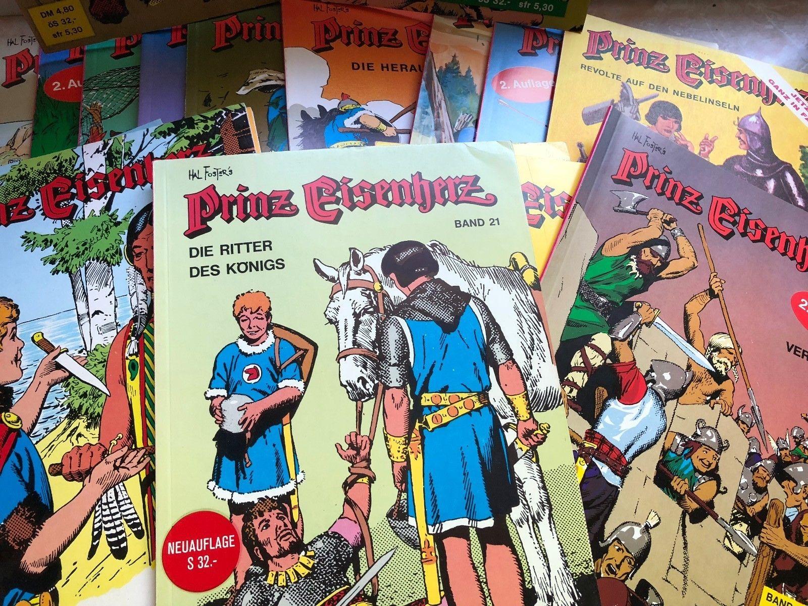Prinz Eisenherz Comics - 46 Stck - sehr gut erhalten