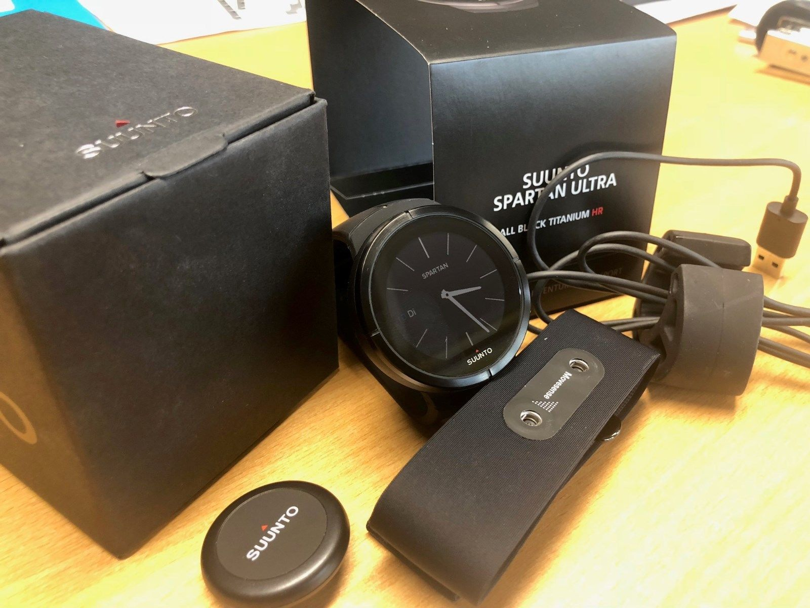 Suunto Spartan Ultra / All Black Titanium HR
