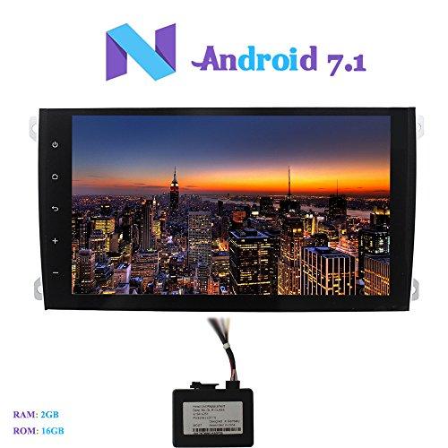 Android 7.1 Car Autoradio, Hi-azul 9