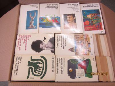 115 Bücher Taschenbücher dtv Verlag weiße dtv Taschenbücher