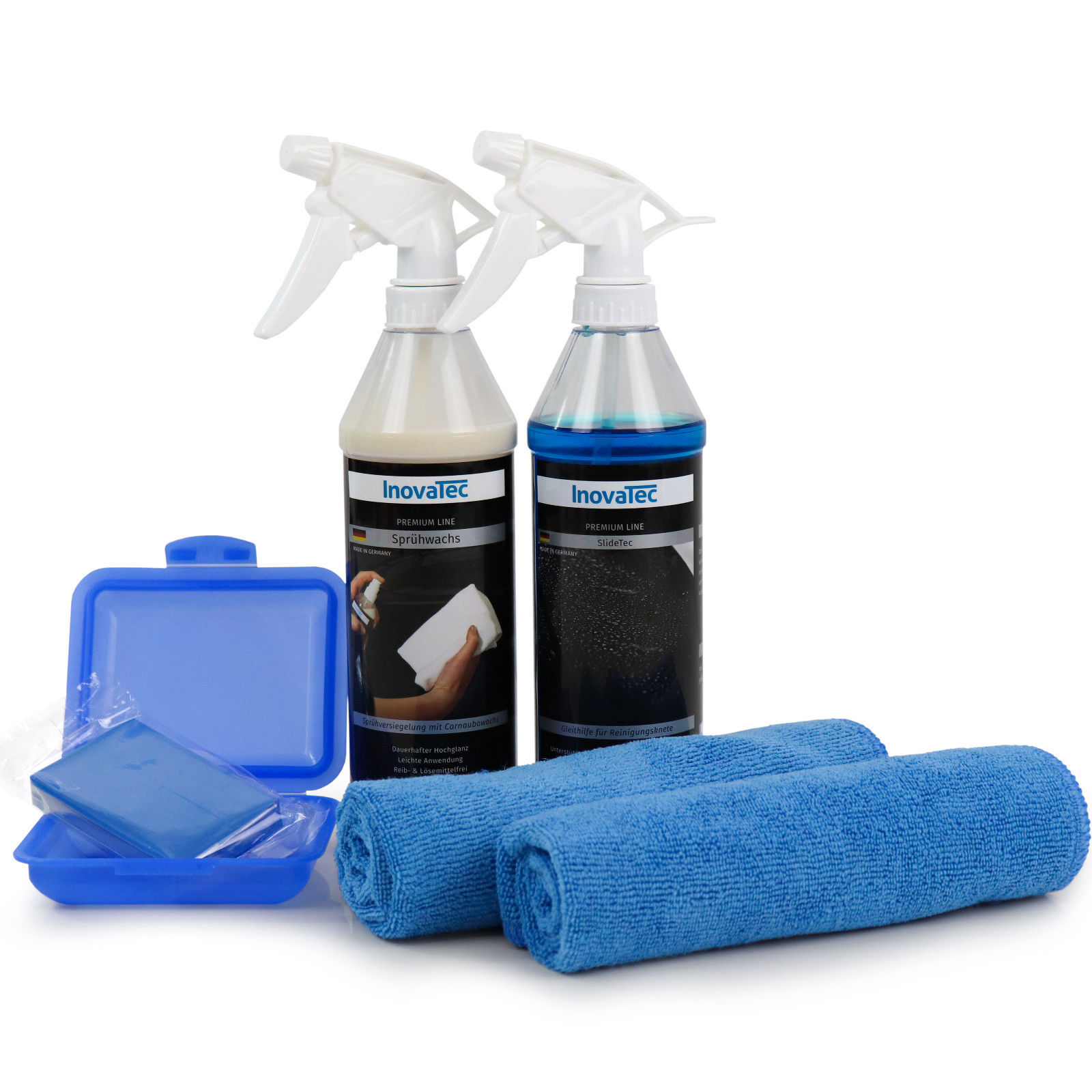 100gr Reinigungsknete blau  Flugrost Autopflege Kfz-Pflege Fahrzeugaufbereitung