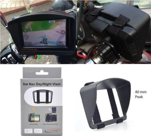 Sonnenblende Visier für TomTom Rider 410 450 420 42 Motorrad Sat Nav GPS