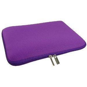 Stoßdämpfende, wasserfeste Schutzhülle/Tasche von GAGS mit Zwei-Wege-Reißverschluss, Neopren, lila, für alle 11,6-Zoll-Netbooks, -Webbooks, -Laptops und -Mini-Notebooks