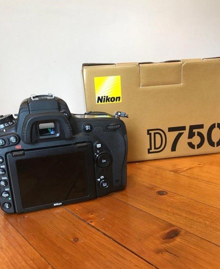 Nikon D D750 24.3 MP SLR-Digitalkamera - (Nur Gehäuse) inkl. 50 mm Objektiv
