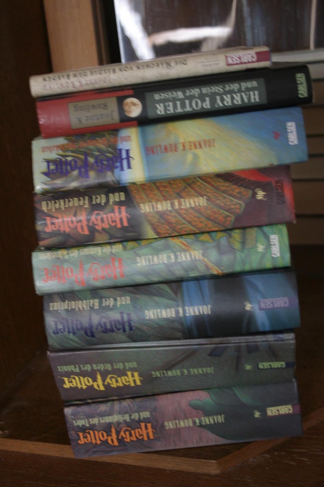 Harry Potter 1 - 8 komplette Ausgabe gebundene Bücher, Joanne K. Rowling