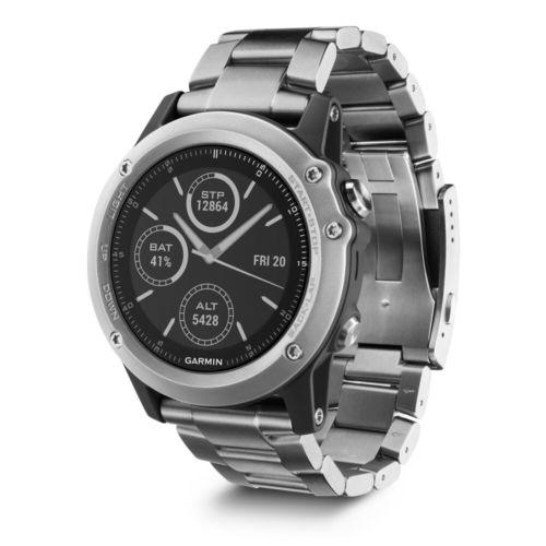 GARMIN FENIX 3 HR GPS Multisport Uhr Smartwatch von März 2018 mit Rechnung
