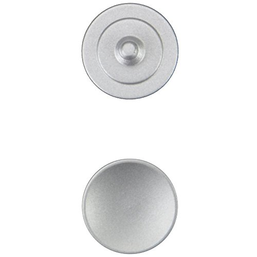 JJC SRB - Auslöser-Taste aus Metall für Fotokameras, silber