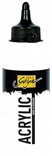 Solo Goya Acrylic Flasche, 250 ml, weiß