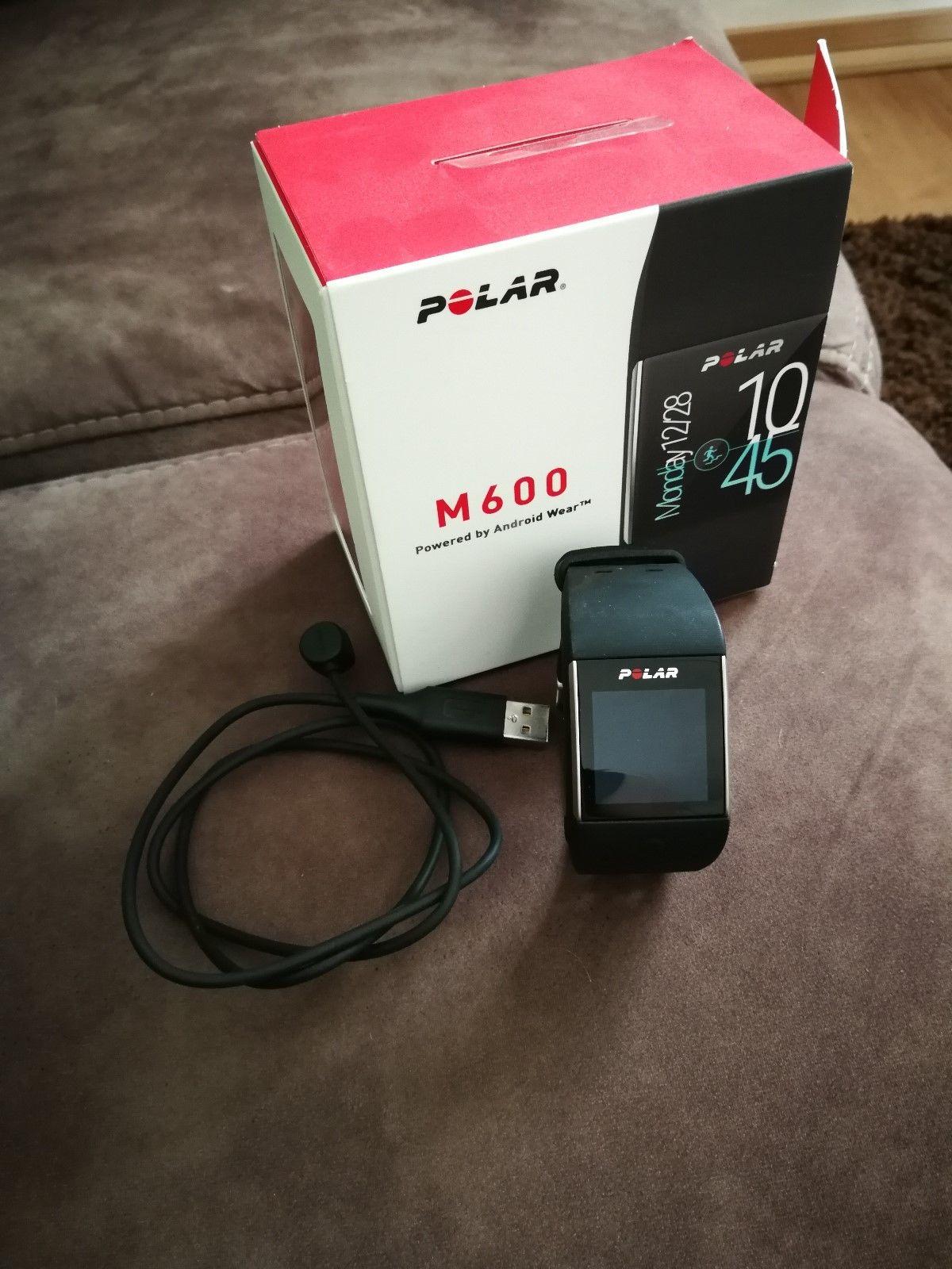 Polar m600 Smartwatch in Schwarz Gebraucht aber kaum genutzt