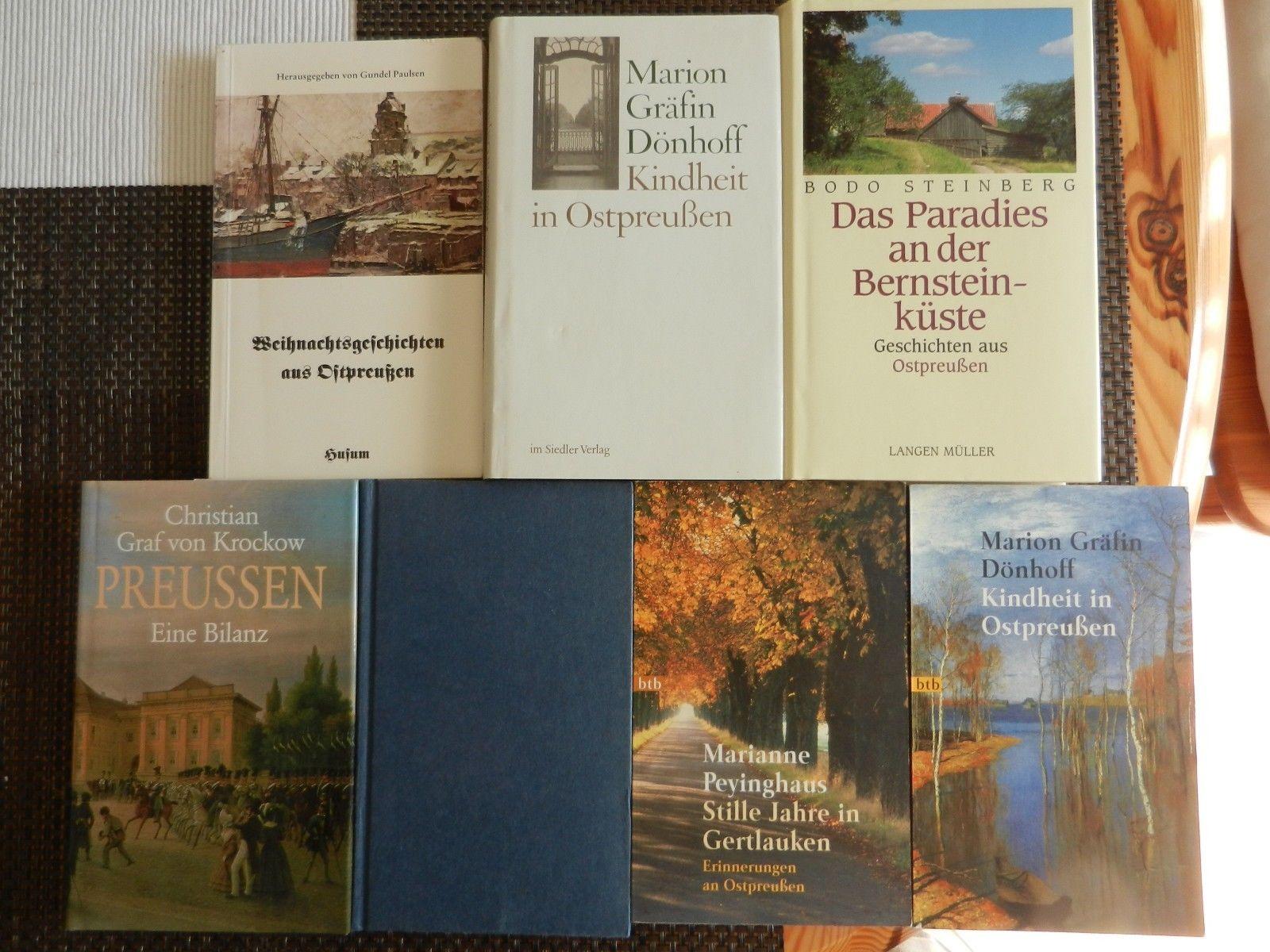 7 Bücher Ostpreußen