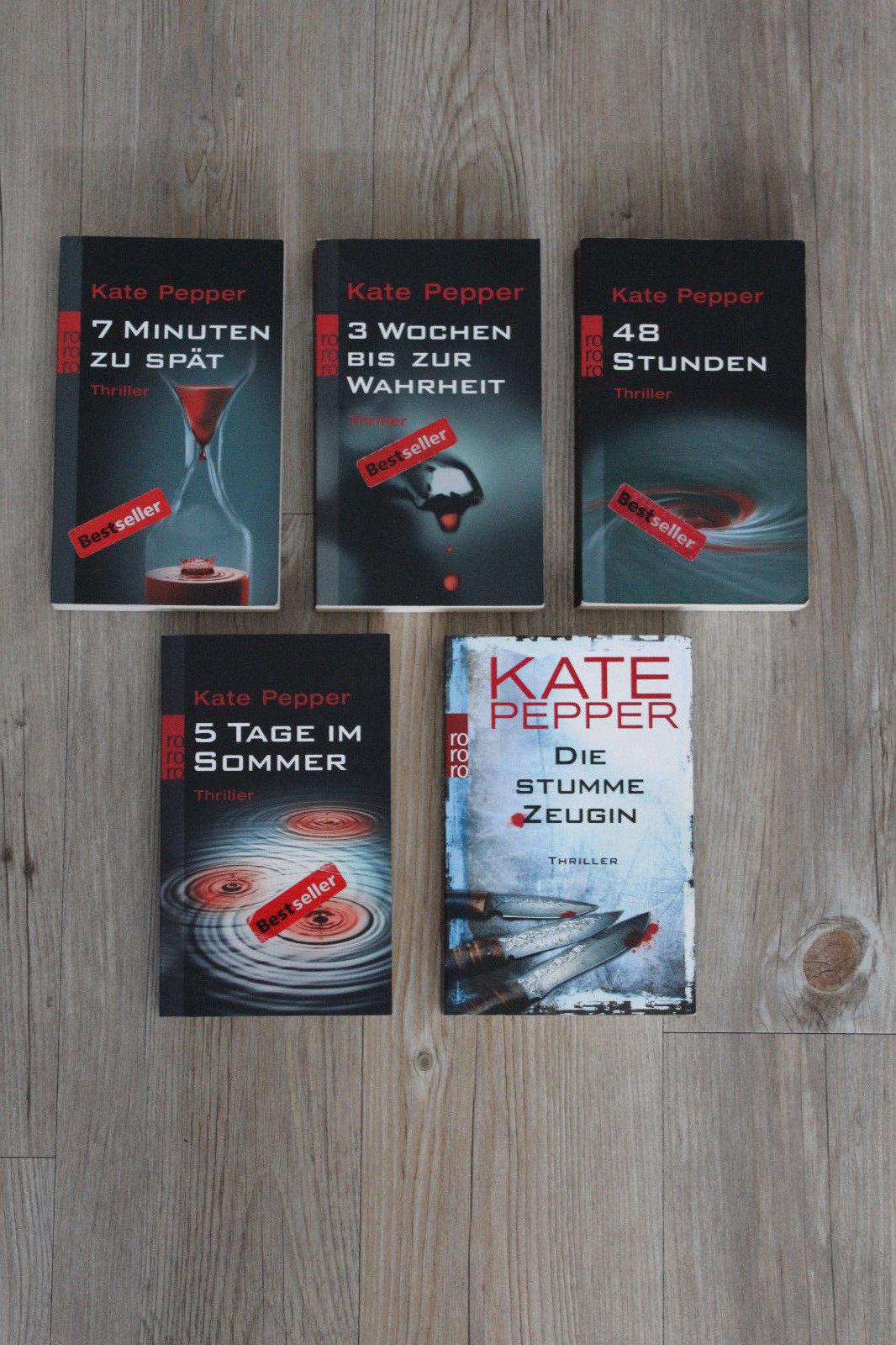 Thrillerpaket / Kate Pepper / Sammlung