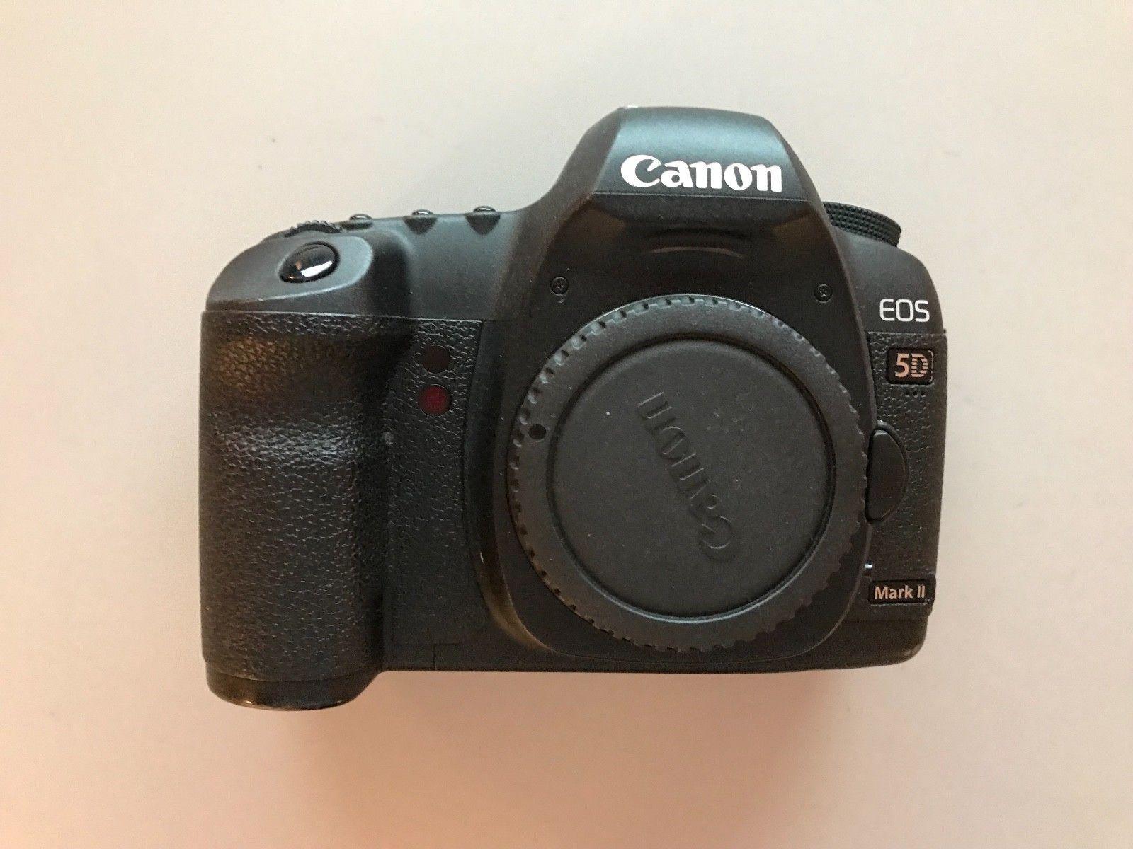 Canon EOS 5D Mark II 21,1 MP Digitalkamera (Nur Gehäuse) body